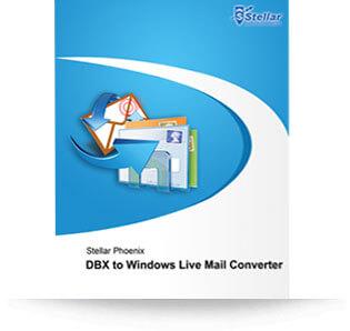 Stellar DBX to Windows Live Mail Converter