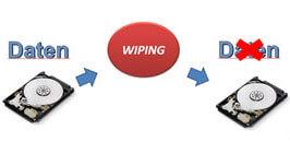 Daten wiping